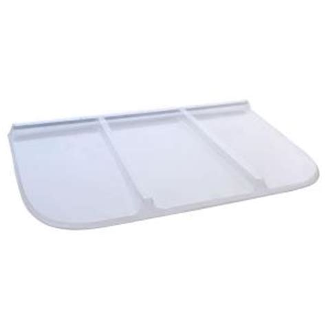 window well cover home depot shape products 62 in x 38 in polycarbonate rectangular