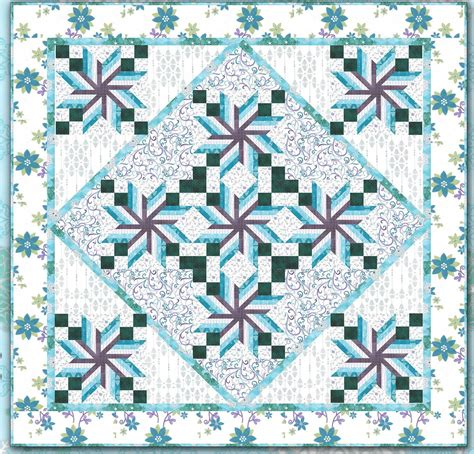 Quilt Pattern Free by Quilt Inspiration Free Pattern Day Snowmen And Snowflakes