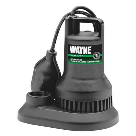 wayne 3 10 hp reinforced thermoplastic submersible sump