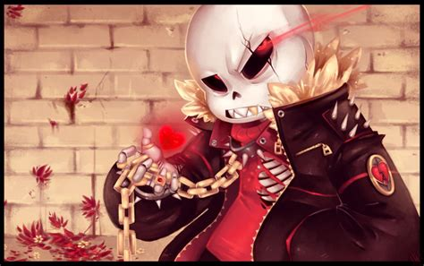 What Do Different Colors Mean by Underfell Sans Still Determined Kid By