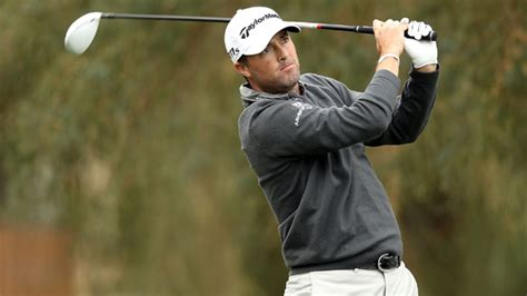 ryan palmer golf swing ryan palmer leads waste management phoenix open by one