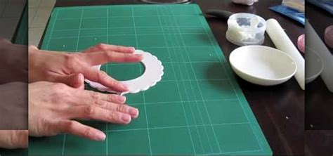 How To Make Fondant Decorations by How To Make Fondant Frills Using A Frill Cutter For Cake