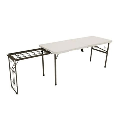 5 Ft Folding Table Lifetime 5 5 Ft Folding Tailgate Table 80286 The Home Depot