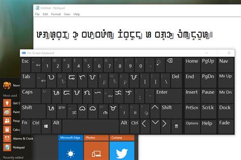 keyboard layout in windows 10 baybayin modern fonts july 2015