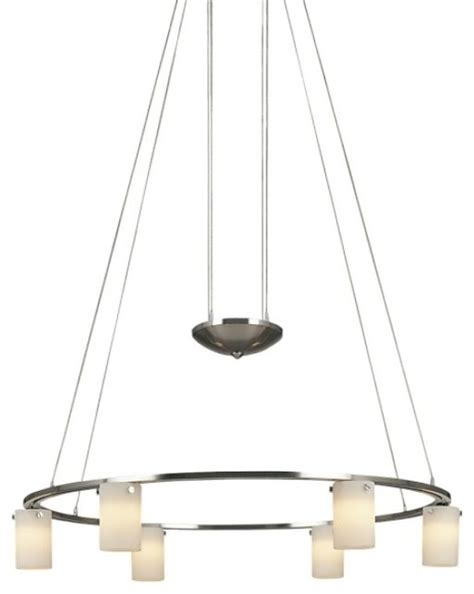 Shop Houzz Minka Aire Counter Weights 6 Light Low Low Voltage Chandelier