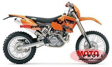 Ktm 525 Exc Horsepower Ktm 525 Exc Racing 2004 Specs And Photos