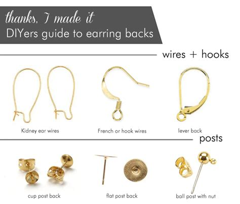 earrings what are the different types of earring