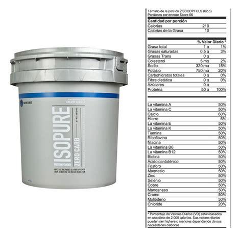 proteina 0 carb proteina isopure zero carb 7 5 lbs natures best vainilla