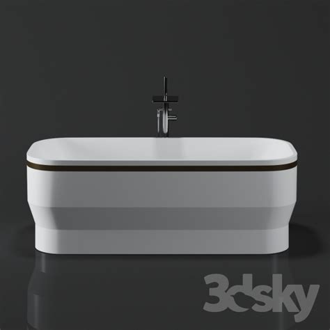 3d Models Bathtub Kash Self Freestand Bathtub