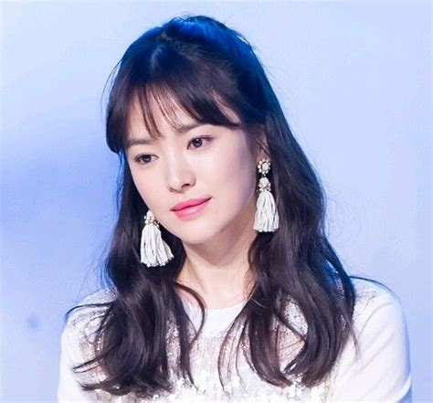 sun hye in different hairstyles pictures song hye in different hairstyles song hye kyo fashion