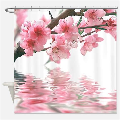 sakura shower curtain sakura shower curtains sakura fabric shower curtain liner