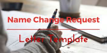 letter for change of name after marriage template our