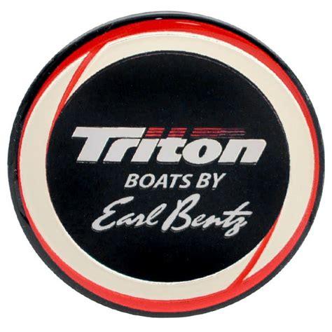 triton boats steering wheel triton oem 2025854 black white red silver 2 1 4 inch