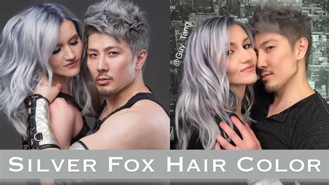 Tang Mydentity Permanent Ash Ash 5aa Hair Color Brown Grey silver fox hair color