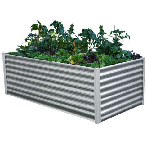 Raised Vegetable Garden Beds Bunnings The Organic Garden Co 2 0 X 1 0 X 0 73m Raised Rectangle