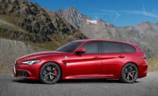 Alfa Romeo Wagon Alfa Romeo Giulia Wagon Alfa Crossover Rendered News