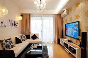 tv rooms small tv room ideas with floral wallpaper decolover net