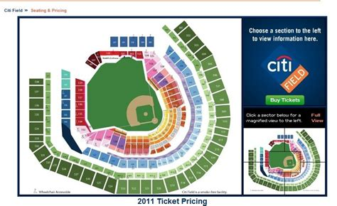 citi field seating diagram the new 2012 citi field seating chart the mets