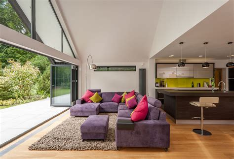 Living Room Extensions Uk Bungalow Extension And Remodel Real Homes
