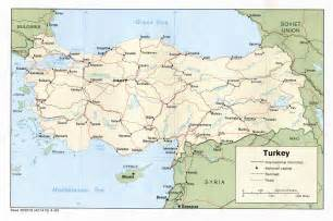 turkey map free printable maps