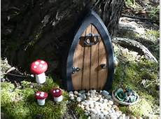 Faerie doors Fairy Doors Gnome Doors Elf Doors by NothinButWood