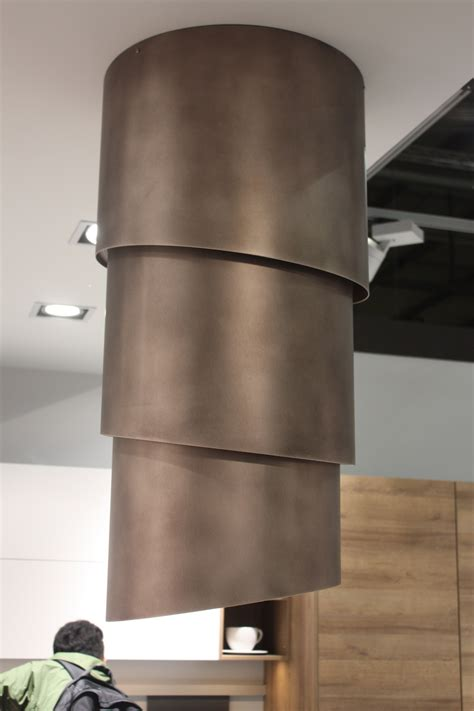 Kitchen Island Stainless stylish options for kitchen hoods from eurocucina