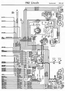 1962 Ford Radio Schematic Diagrams Wiring Diagrams Of 1962 Ford Lincoln Continental Part 2