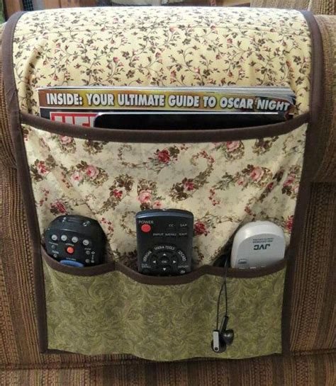 armchair caddy pattern armchair caddy bedside caddy remote holder