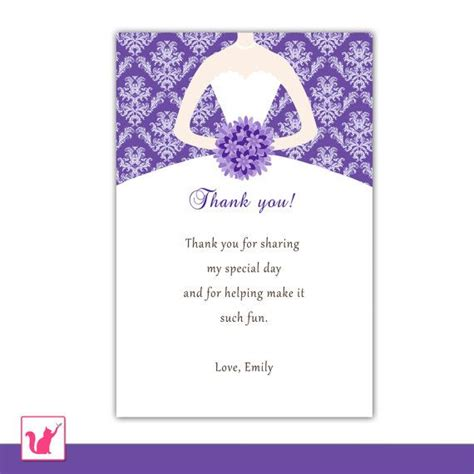 printable quinceanera birthday cards 13 best bridal shower thank you cards images on pinterest