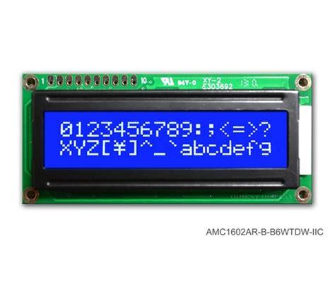 Lcd 16x2 16x2 lcd blue modern electronics