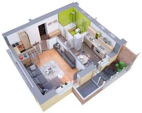 apartment 3d floor plans one bed room house design and terraced house floor plans house home plans ideas picture