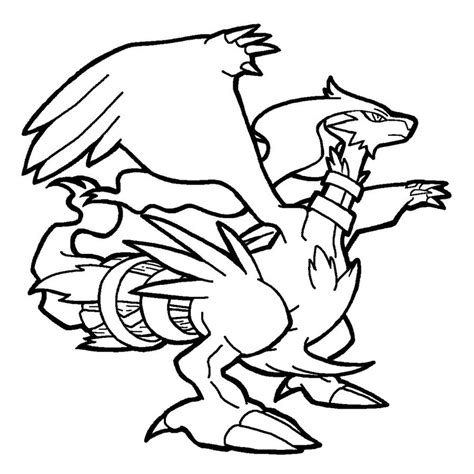 pokemon coloring pages black and white zekrom pokemon zekrom coloring pages images pokemon images