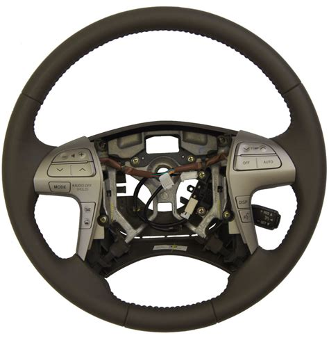 toyota steering wheel 2007 11 toyota camry steering wheel ash brown leather
