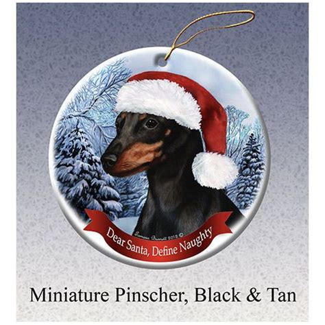 annapolis maryland black dog christmas ornament miniature pinscher min pin black howliday ornament miniature the o jays and