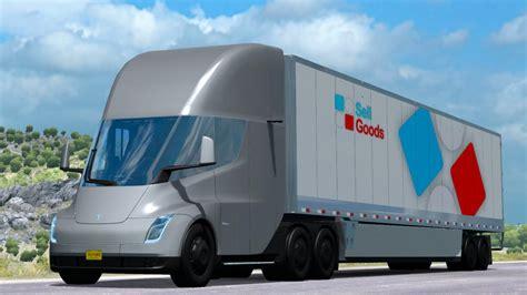 2019 Tesla Truck by Tesla Semi Truck 2019 1 34 Truck Mod Truck Simulator