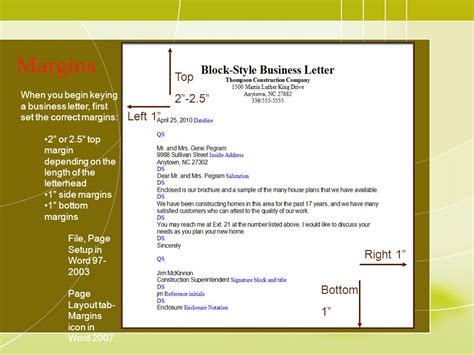 Business Letter Block Format Margins resume cover letter block format block format dafytk