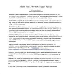 Thank You Letter To From Parent End Of The Year Sles Thank You Letter To Parents 9 Free Sle Exle Format Free Premium Templates