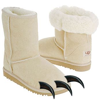 get your fake uggs! polar bear ugg boots for everyone!