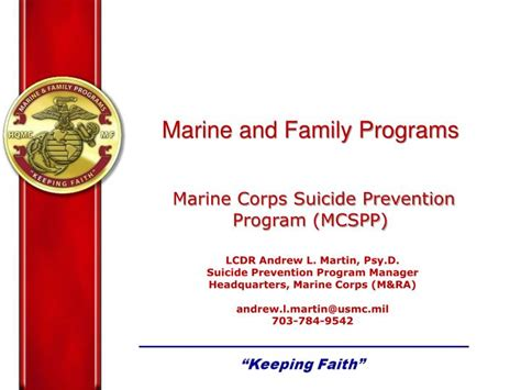 marine corps powerpoint template ppt marine and family programs marine corps