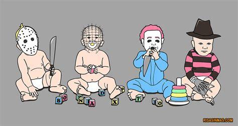 imagenes navidad terror desde peque 241 os apuntaban maneras