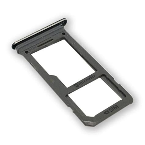 replacement single sim card micro sd card holder slot