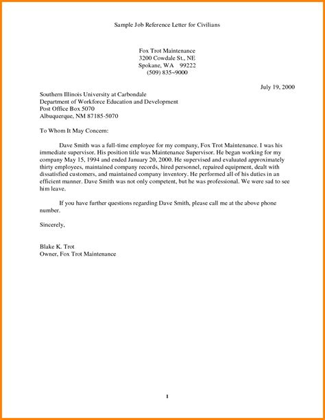 Reference Letter Template Doc 9 Application References Exle Ledger Paper