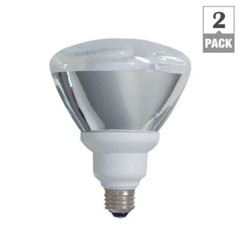 Outdoor Cfl Flood Light Bulbs Ge 90w Equivalent Soft White 2700k Par38 Outdoor Cfl