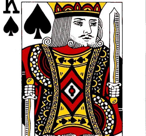 nama nama raja di kartu remi si budi