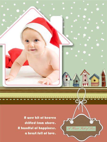 baby collage card add on baby collage card add on templates free
