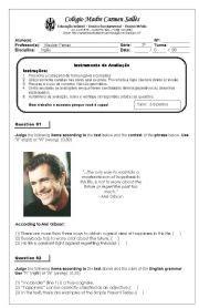 michael jackson biography worksheet pdf english teaching worksheets simple past