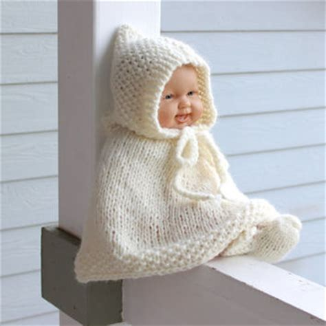 Handmade Wool Baby Clothes - knit baby poncho booties set alpaca from chicksale on etsy