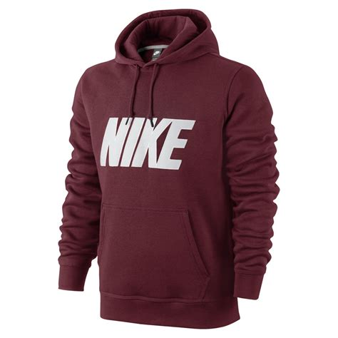 Jaket Levis By Tottal Polos nike s club twill applique logo hoody burgundy