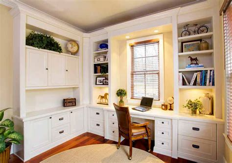 Custom Home Office Desk Cabinetry Custom Home Office Designs