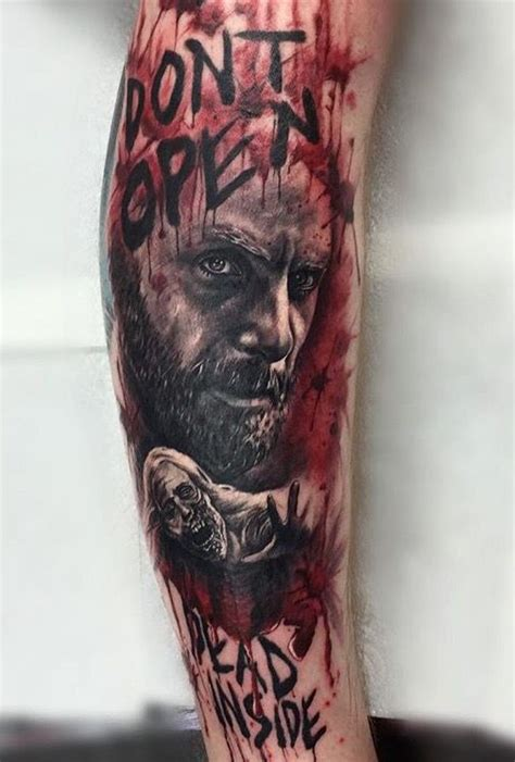 walking dead tattoo 25 best ideas about walking dead on